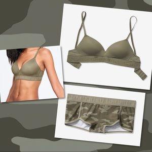 Victoria's Secret PINK Lightly Lined Bra & Panty
